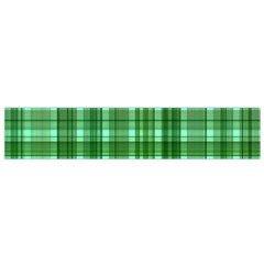 Plaid Forest Flano Scarf (Small)