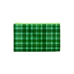 Plaid Forest Cosmetic Bag (xs)