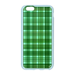 Plaid Forest Apple Seamless iPhone 6 Case (Color)