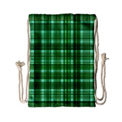 Plaid Forest Drawstring Bag (Small)