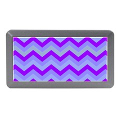 Chevron Blue Memory Card Reader (mini)