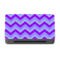 Chevron Blue Memory Card Reader with CF