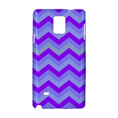 Chevron Blue Samsung Galaxy Note 4 Hardshell Case
