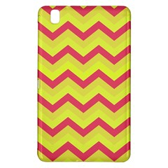 Chevron Yellow Pink Samsung Galaxy Tab Pro 8 4 Hardshell Case