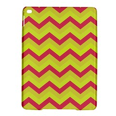 Chevron Yellow Pink iPad Air 2 Hardshell Cases