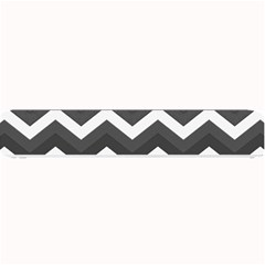 Chevron Dark Gray Small Bar Mats