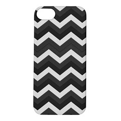 Chevron Dark Gray Apple Iphone 5s Hardshell Case