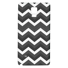 Chevron Dark Gray Galaxy Note 4 Back Case