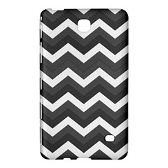 Chevron Dark Gray Samsung Galaxy Tab 4 (8 ) Hardshell Case
