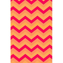 Chevron Peach 5 5  X 8 5  Notebooks