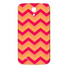 Chevron Peach Samsung Galaxy Mega I9200 Hardshell Back Case