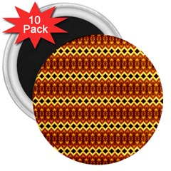 Cute Seamless Tile Pattern Gifts 3  Magnets (10 Pack)