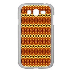Cute Seamless Tile Pattern Gifts Samsung Galaxy Grand Duos I9082 Case (white)