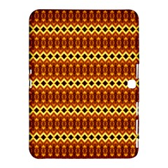 Cute Seamless Tile Pattern Gifts Samsung Galaxy Tab 4 (10.1 ) Hardshell Case