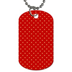 Cute Seamless Tile Pattern Gifts Dog Tag (one Side)