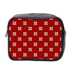 Cute Seamless Tile Pattern Gifts Mini Toiletries Bag 2 Side