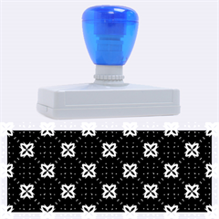 Cute Seamless Tile Pattern Gifts Rubber Address Stamps (XL)
