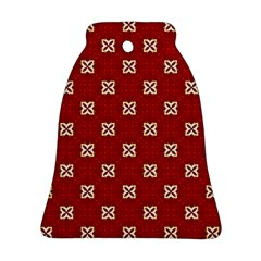 Cute Seamless Tile Pattern Gifts Ornament (bell)