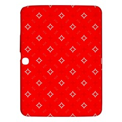 Cute Seamless Tile Pattern Gifts Samsung Galaxy Tab 3 (10 1 ) P5200 Hardshell Case
