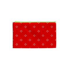 Cute Seamless Tile Pattern Gifts Cosmetic Bag (xs)