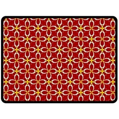 Cute Seamless Tile Pattern Gifts Double Sided Fleece Blanket (Large)