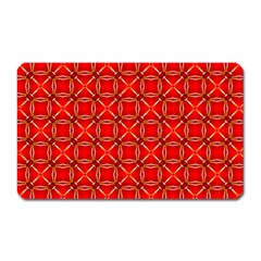 Cute Seamless Tile Pattern Gifts Magnet (rectangular)