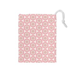 Cute Seamless Tile Pattern Gifts Drawstring Pouches (medium)