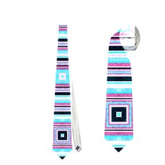 Cute Seamless Tile Pattern Gifts Neckties (One Side)