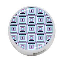 Cute Seamless Tile Pattern Gifts 4 Port Usb Hub (two Sides)