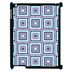 Cute Seamless Tile Pattern Gifts Apple Ipad 2 Case (black)