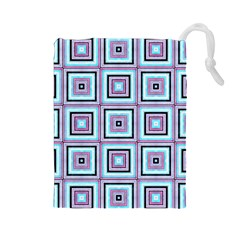 Cute Seamless Tile Pattern Gifts Drawstring Pouches (large)