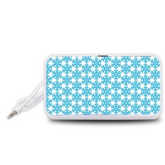 Cute Seamless Tile Pattern Gifts Portable Speaker (White)