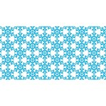 Cute Seamless Tile Pattern Gifts #1 MOM 3D Greeting Cards (8x4)  Back