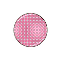 Cute Seamless Tile Pattern Gifts Hat Clip Ball Marker (4 Pack)