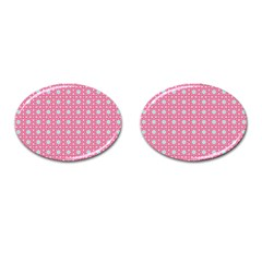 Cute Seamless Tile Pattern Gifts Cufflinks (oval)