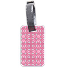 Cute Seamless Tile Pattern Gifts Luggage Tags (one Side)