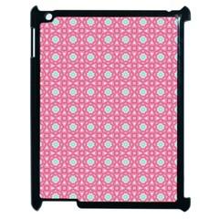 Cute Seamless Tile Pattern Gifts Apple Ipad 2 Case (black)