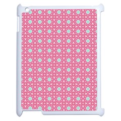Cute Seamless Tile Pattern Gifts Apple Ipad 2 Case (white)