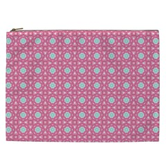 Cute Seamless Tile Pattern Gifts Cosmetic Bag (xxl)