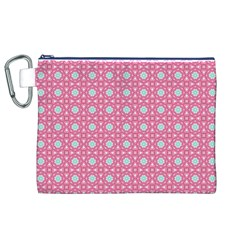 Cute Seamless Tile Pattern Gifts Canvas Cosmetic Bag (XL)