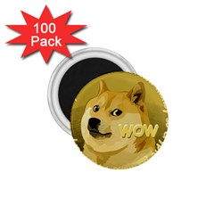 Dogecoin 1 75  Magnets (100 Pack)