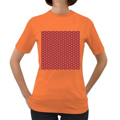 Cute Seamless Tile Pattern Gifts Women s Dark T Shirt