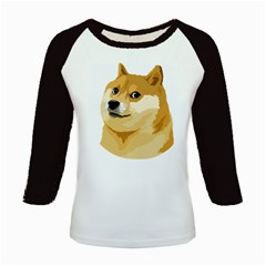 Dogecoin Kids Baseball Jerseys