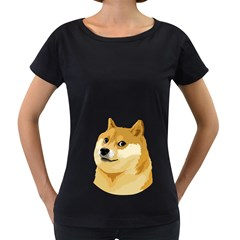 Dogecoin Women s Loose Fit T Shirt (black)