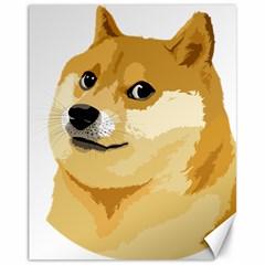 Dogecoin Canvas 11  X 14