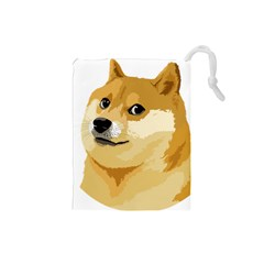 Dogecoin Drawstring Pouches (small)