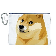 Dogecoin Canvas Cosmetic Bag (xl)
