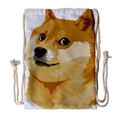 Dogecoin Drawstring Bag (Large)