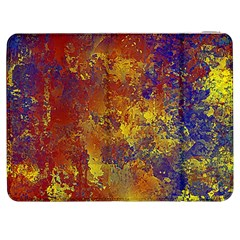 Abstract in Gold, Blue, and Red Samsung Galaxy Tab 7  P1000 Flip Case