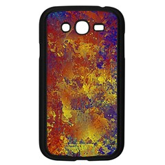 Abstract in Gold, Blue, and Red Samsung Galaxy Grand DUOS I9082 Case (Black)